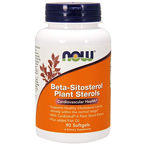 Now Supplements, Beta-Sitosterol Plant Sterols, 90 Softgels