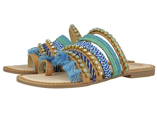 Blue 32 Multicolour Gioseppo Chitae Women's Blue Sandals 81wtSqY
