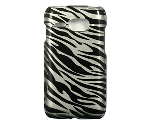 Dream Wireless CAKYC5133SLZ Slim and Stylish Design Case for Kyocera Event C5133 - Retail Packaging - Silver Zebra