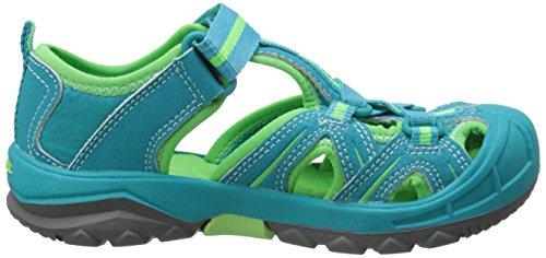 Merrell HYDRO HIKER SANDAL - Sandalias deportivas de material sintético para niño multicolor - Mehrfarbig (TURQ/GREEN)