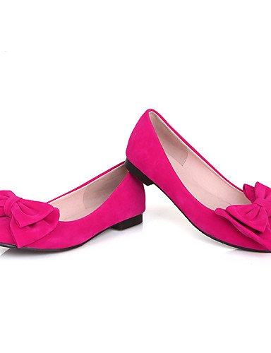 oficina dedo comodidad libre PDX mujer coral cn36 y plano azul carrera blue punta negro casual del redonda zapatos us6 aire eu36 uk4 al cerrado talón rojo pie pisos de de rqzwzxYT