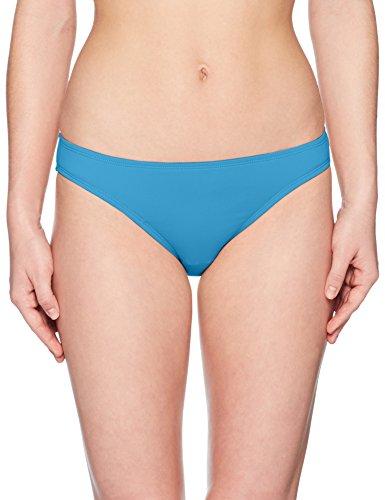 Bay Bikini Bottom - Swim Systems Women's Americana Moderate Coverage Bikini Bottom Swimsuit, Bay Blue, Medium