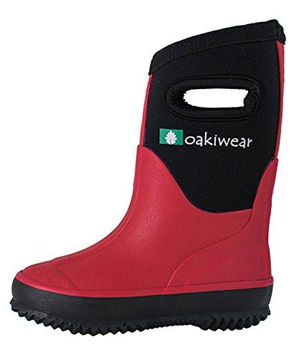 Pictures of Oakiwear Children's Neoprene Rain Boots Snow 5