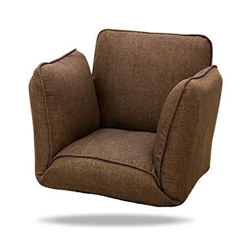 床の怠惰なソファーの床の椅子Back賭博の椅子として使用のためのサポートのための怠惰なソファーの椅子、55 * 56 * 55cm B07SSWDPWV