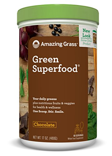 Amazing Grass Superfood Chocolate servings