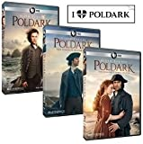 Masterpiece: Poldark Complete Seasons 1, 2 & 3 Plus Bonus Sticker