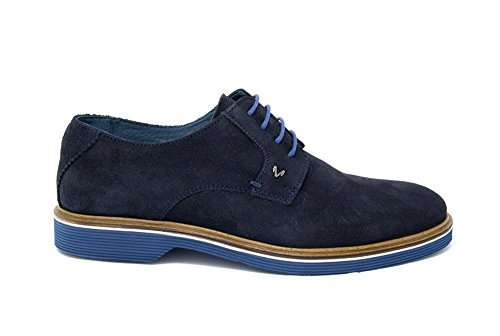 Scarpe Martinelli Derby Bowie Uomo Blue Stringate 1153x 1204 6CtnxC