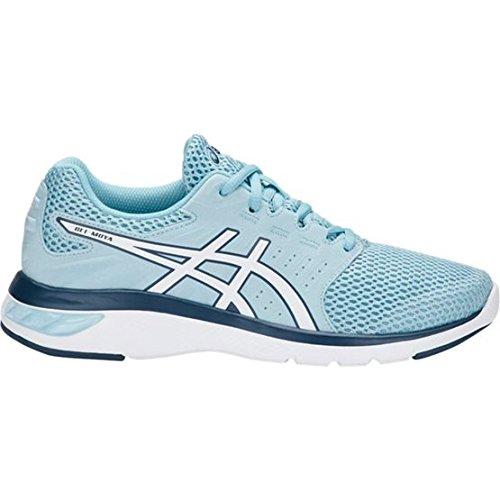 Porcelain bluee   White   Porcelain bluee ASICS Women's Gel-Moya Running shoes T891N
