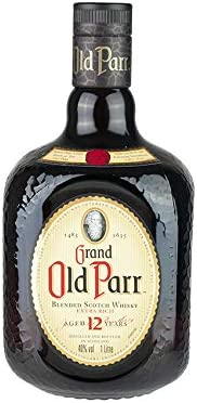 Whisky escocés, 12 años, 40% vol, Botella 1l - GRAND OLD PARR Blended Scotch Whisky 1 Liter