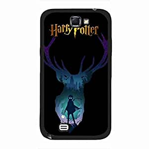 Back Skin for Harry Potter,Popular Harry Potter Phone Cover,Plastic Samsung Galaxy Note 2 Cover Case,funda