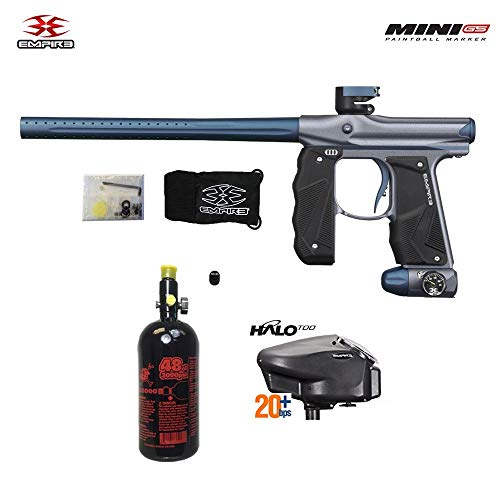 Empire Mini GS HPA Paintball Gun Package A - Dust Grey/Navy