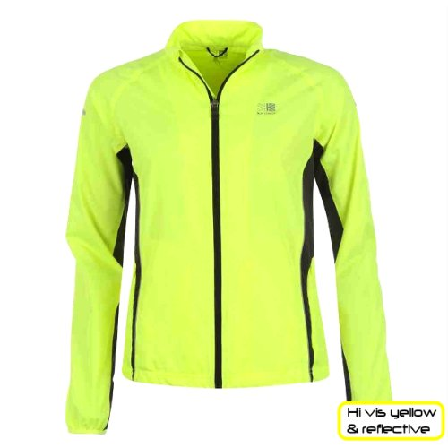 ProAthletica Womens Cycling /Running Rain Jacket High Visibility ...