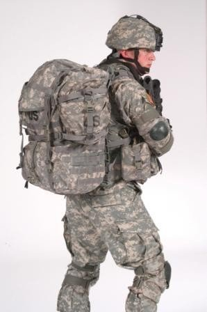 MOLLE Rucksack System, NSN 8465-01-523-6276 (ACU Pattern)
