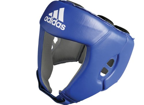 adidas AIBA approved Boxing Head Guard Blue (X-Large)