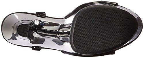 Ellie Shoes Womens 711-Chrome Platform Sandal Black AxSjYt5qw0