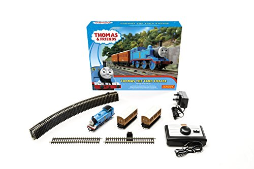 Hornby Thomas The Tank Engine Train Set (Blue) by Hornby (Hornby Train Sets)