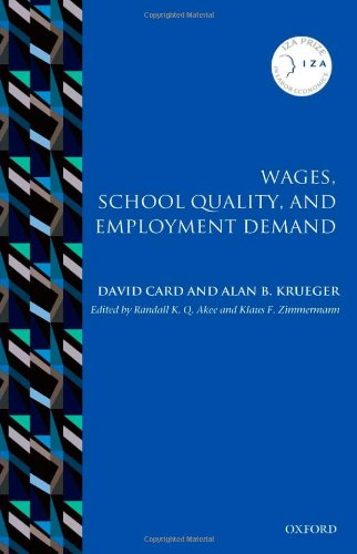 Wages, School Quality, and Employment Demand (IZA Prize in Labor Economics)