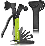 KiScooter Mini Camping Accessories Multitool Tool - All in 1 Survival Tools, Dad Gifts, Christmas Birthday Gif