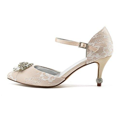 des satin pour à de talons hauts festivals Zxstz danse la soie champagne du femmes et pour en Chaussures a1qxw0f