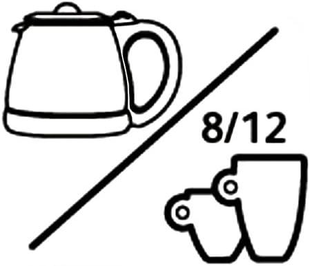 Tefal CI4408 Thermo-Kaffeemaschine 8-12 Tassen 870 W Filterkaffeemaschine