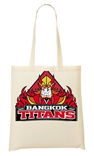 Bangkok Titans Meme Bolso De Mano Bolsa De La Compra