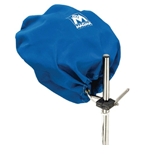 Magma Marine Kettle Grill Cover - Pacific Blue Magma Grill Cover For Kettle Grill Party Size Marine RV Boating Accessories