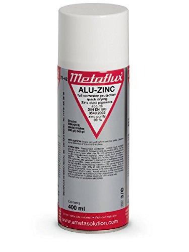 70-42 Alu-Zinc Spray Metaflux Corrosion Proof Repair Galvanized Surfaces  Quick Drying Restores 6e29cb0acd3f0
