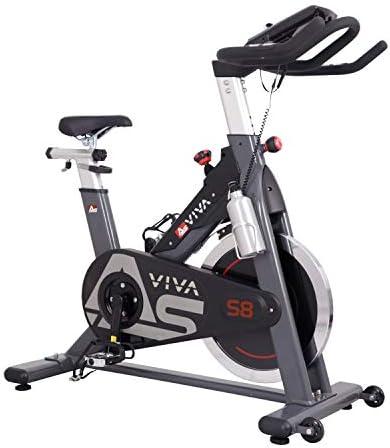 AsVIVA Unisex - Adultos Indoor Cycle & Speedbike S8 Pro App ...