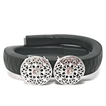 Fashion Fitness Band Bling Accessory cover for Jawbone UP UP2 UP24 Activity Tracker Wristband, garmin vivosmart (ONLY bling accessory, NO TRACKERS)