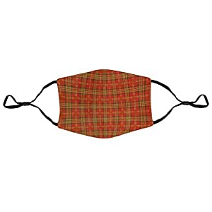F-ace Ma Dust Smoke Nose mouth protector 5 pcs for Kids Women and MenHX20200402GPC002 Tartan plaid_101839638664904704
