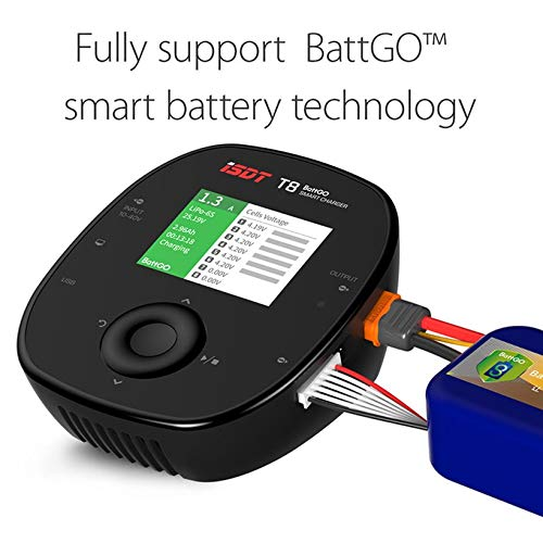 Wikiwand ISDT T8 Battgo 1000W 30A Intelligent Digital Lipo Battery Balance Charger by Wikiwand (Image #3)