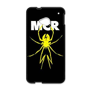 Yellow spider MCR Cell Phone Case for HTC One M7