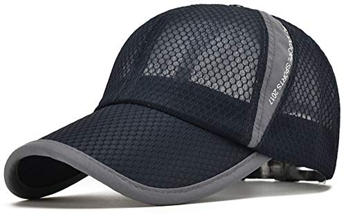 ELLEWIN Unisex Breathable Quick Dry Mesh Baseball Cap Sun Hat Quick Dry Hat