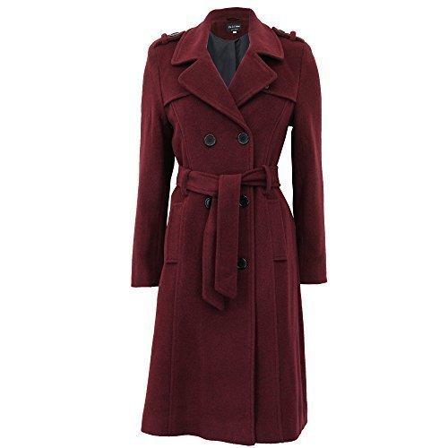 WOL9048 De Jacket La Coat Stylish Wine Creme Ladies' x0qPHwnf0