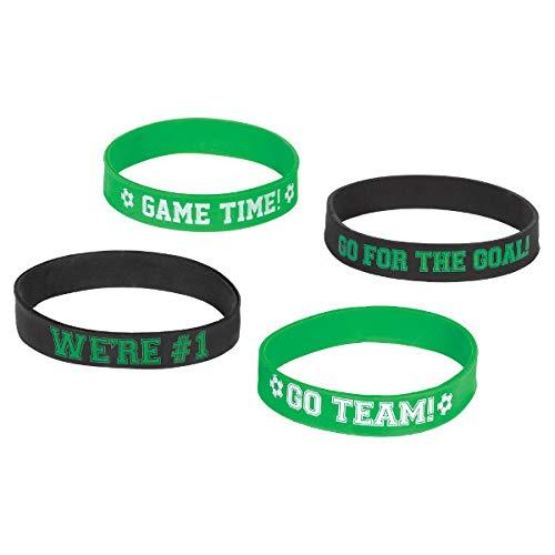 Amscan Soccer Bracelets, Party Favor