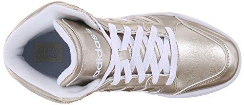 Adidas Neo Donna Raleigh Mid W Casual Sneaker Cyber Metallic Gray / Cyber Metallic Gray / White