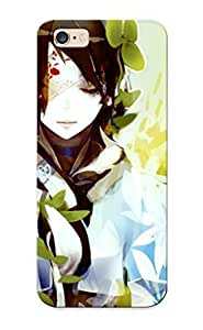 Hot Design Premium ZmKIoNA2924MSOZq Tpu Case Cover Iphone 6 Plus Protection Case (eyepatched Girl)