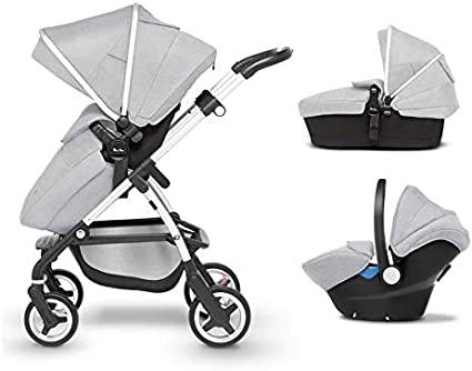 Silver Cross Wayfarer Travel System, Platinum