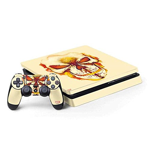 - Ghost Rider PS4 Slim Bundle Skin - Ghost Rider Skull | Marvel & Skinit Skin