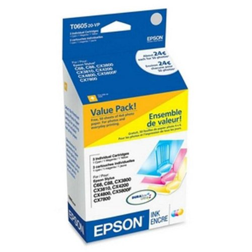 EPST060520 - Epson Multi-Pack Ink Cartridges (Pack T060520 Multi)