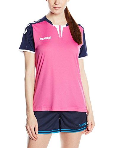 Hummel Damen Trikot Core Short Sleeve Jersey, Rose Violet/Marina, M, 03-649-4329