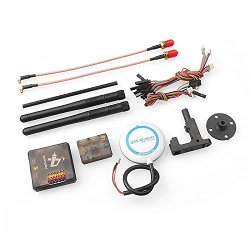 Yoton Accessories Ublox NEO-6M GPS CC3D Revolution Flight Controller OPLINK Telemetry Ground Terminal with Digital Antenna Ublox 6M GPS Set