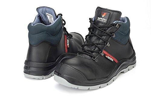 Samurai 1034303009Paar Schuhe Hohe Empire S3HI CI SRC, schwarz/blau, 46