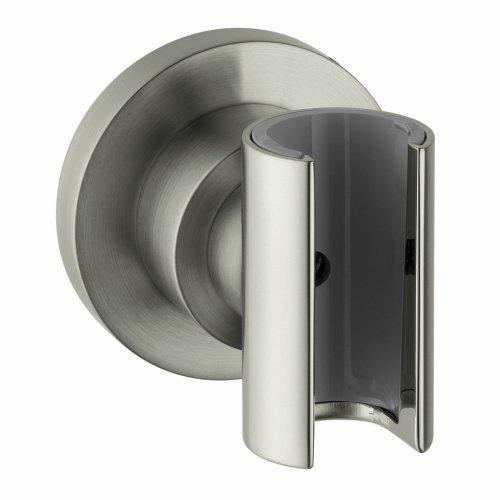 Axor 39525820 Citterio Wall-Mounted Hand Shower Holder, Brushed Nickel (Axor Citterio Handshower)