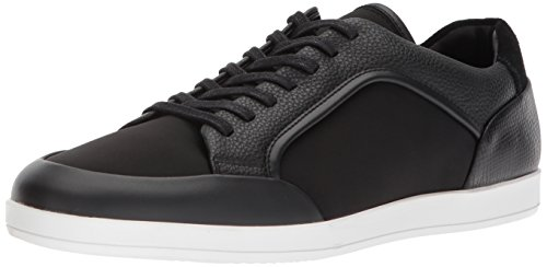 Men's Black Brushed Mason Klein Sneaker Leather Calvin vT8AF8