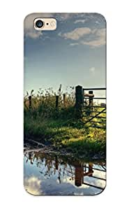 Cute High Quality Iphone 6 Plus Fence Near The Muddy Road Case Provided By Crazinesswith