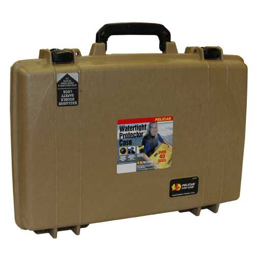 Pelican 1490CC2 Laptop Case (Desert Tan)
