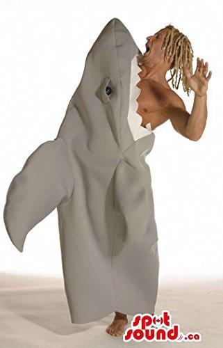 Very Original Shark Eating A Surfer Adult Size Plush (Surfer Shark Costume)