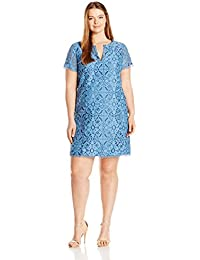 Adrianna Papell Women's Plus Size Margot Cross-Dyed...