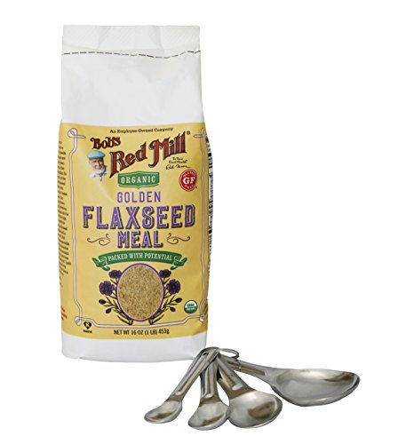 Organic Golden Flaxseed Measuring Spoons product image